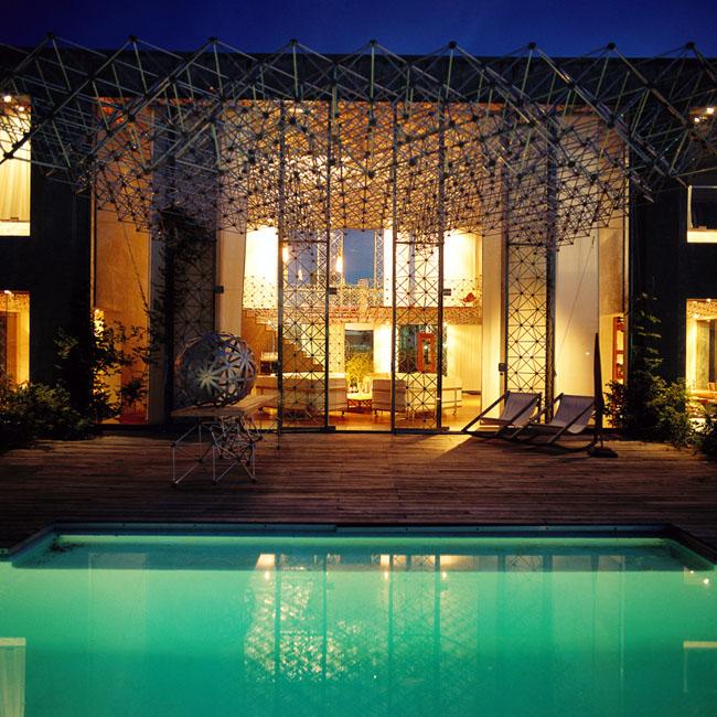 piscina y galeria casa molecule piscina y galeria casa molecule